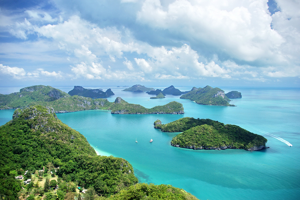The top South sea in Thailand